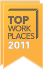 2010 and 2011 Milwaukee Journal Sentinal Top 100 Workplaces in Southeast Wisconsin - Trade Press Media Group