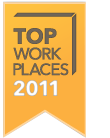 2011 Milwaukee Journal Sentinal Top 100 Workplaces in Southeast Wisconsin